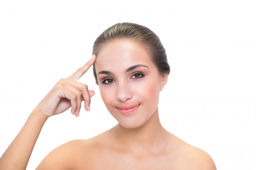 cover receding hairline women