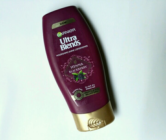 Garnier Ultra Blends Henna Blackberry Nourishing Shine Conditioner Review