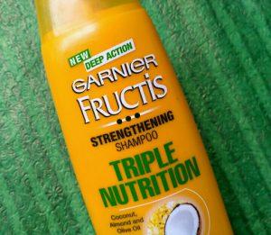 Garnier Fructis Triple Nutrition Strengthening Shampoo