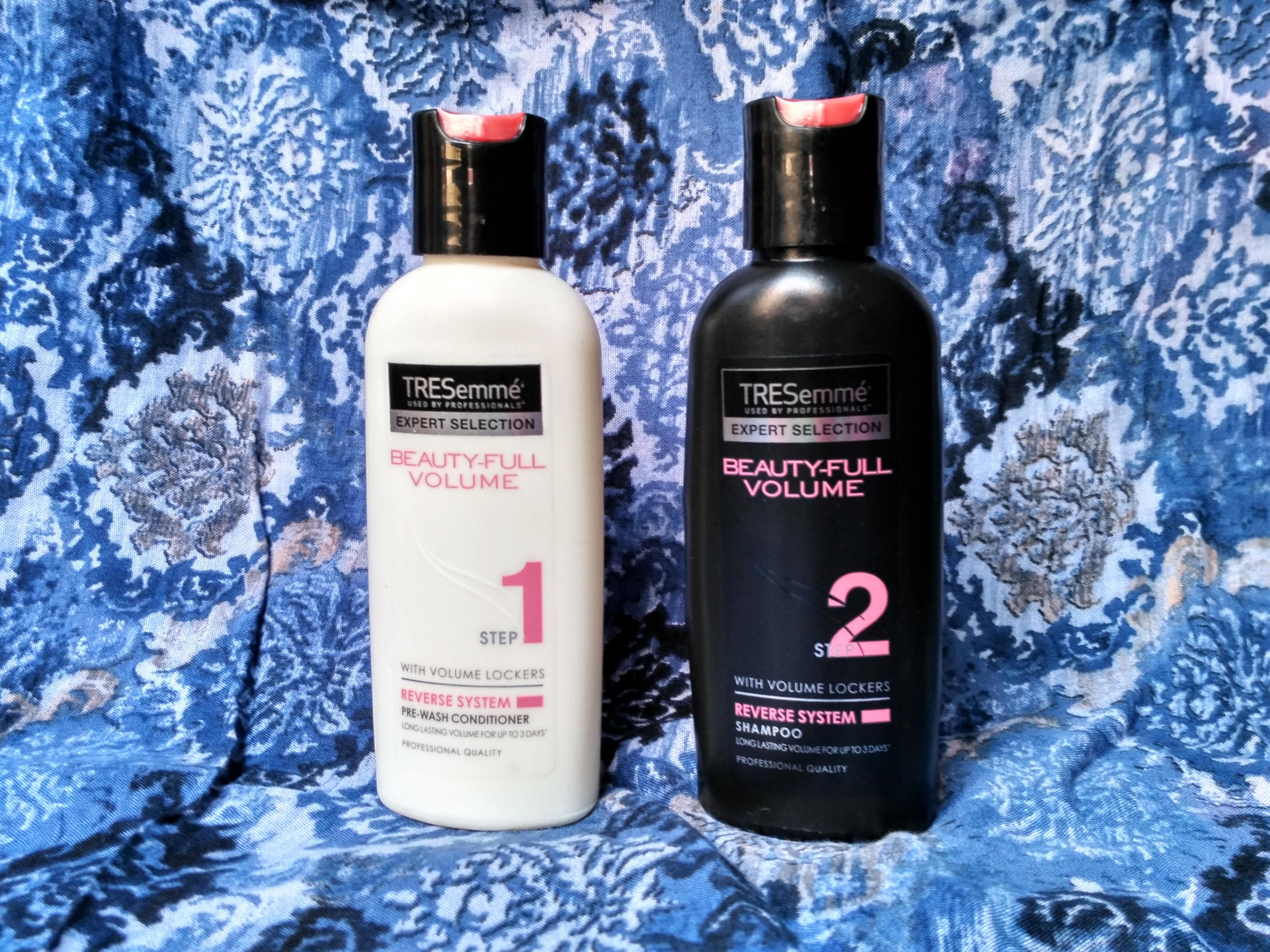 tresemme beauty full volume shampoo conditioner review