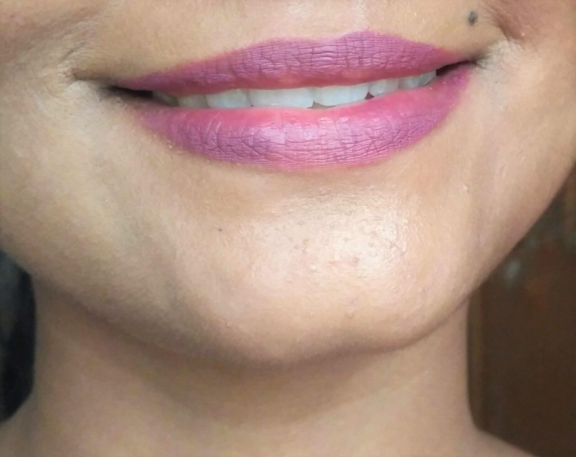L.A. Colors Matte Liquid Lip Color Fierce | Review & Swatches