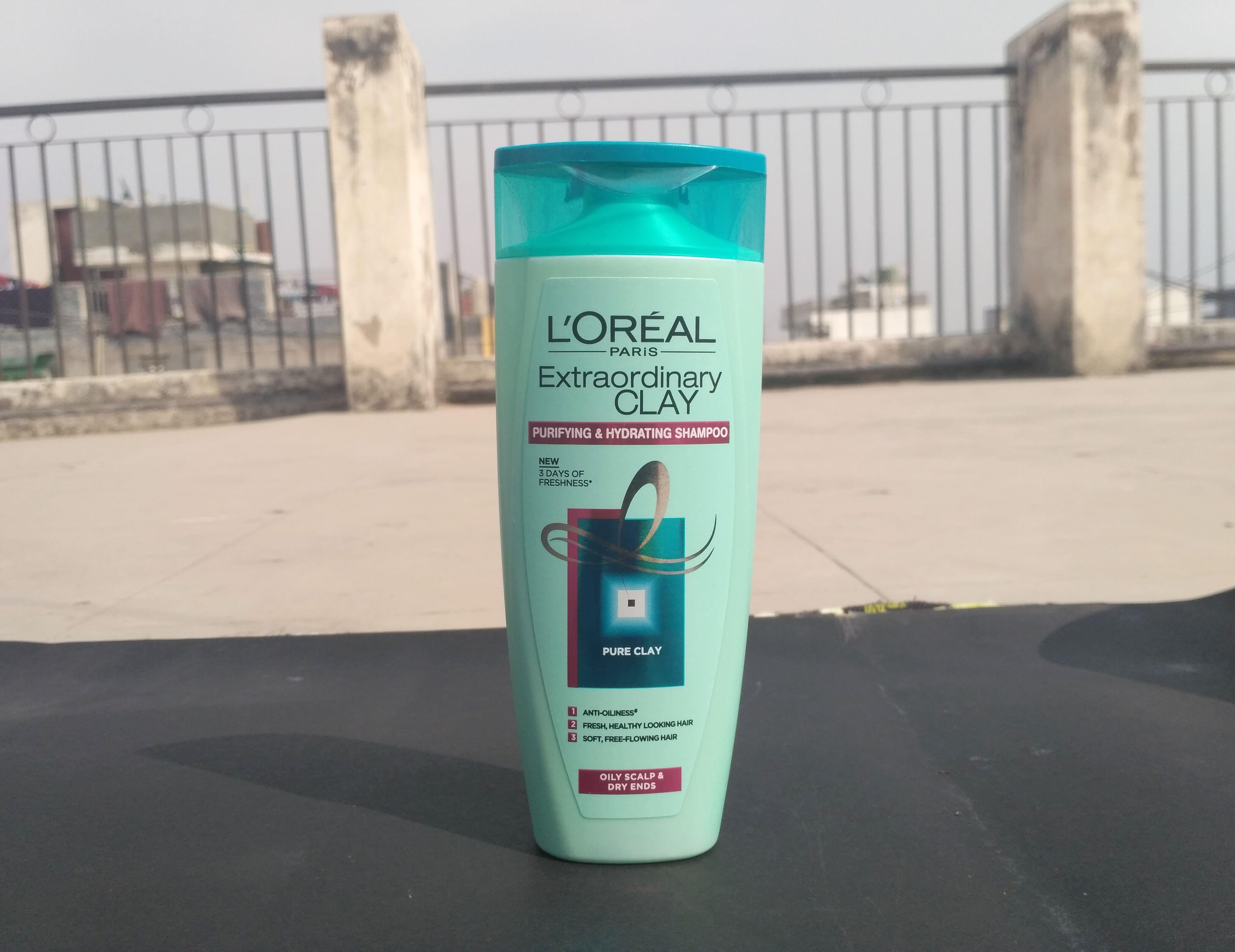 l'oreal paris extraordinary clay purifying & hydrating shampoo review