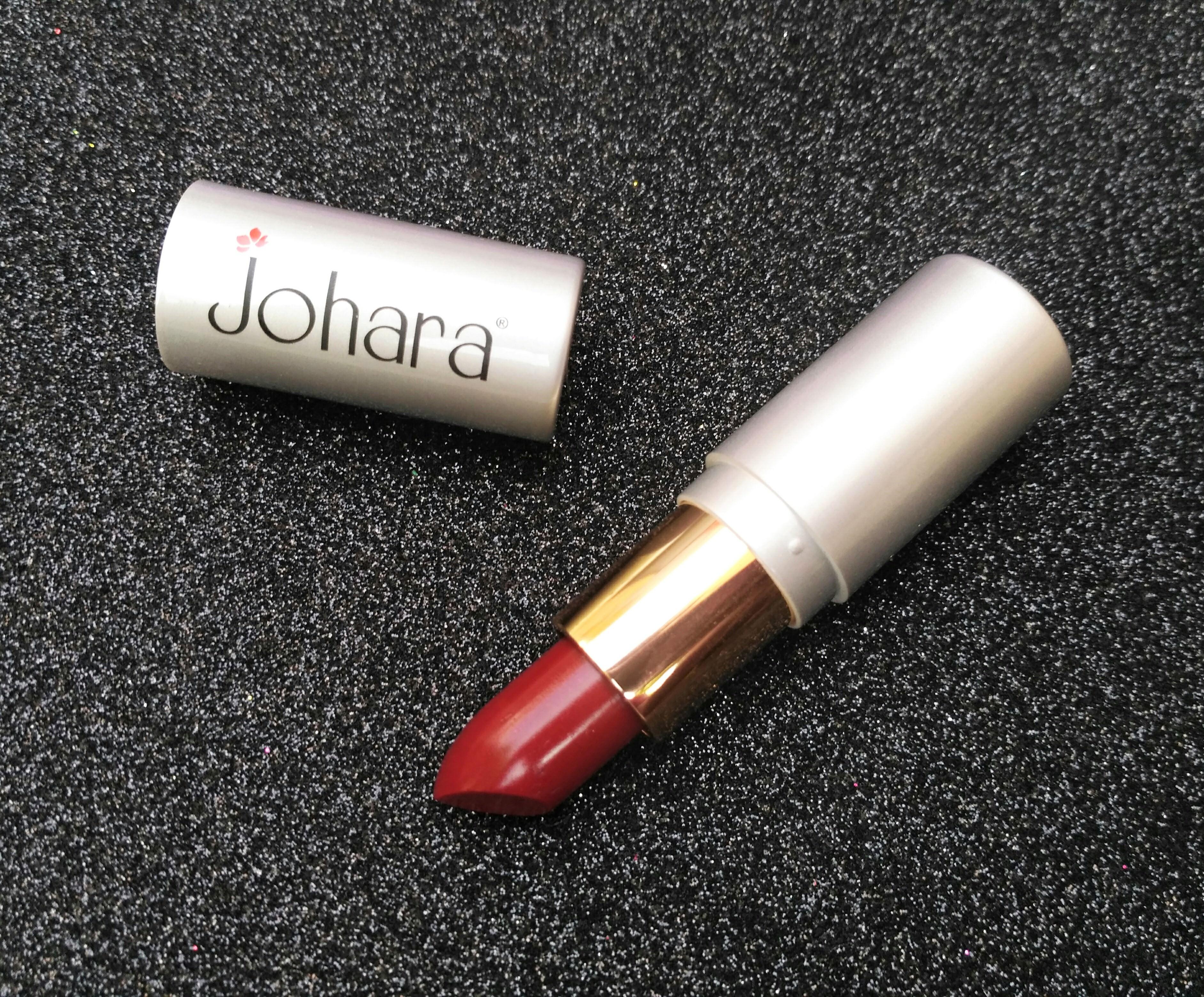 Johara Creme Rich Lip Color Cranberry | Review