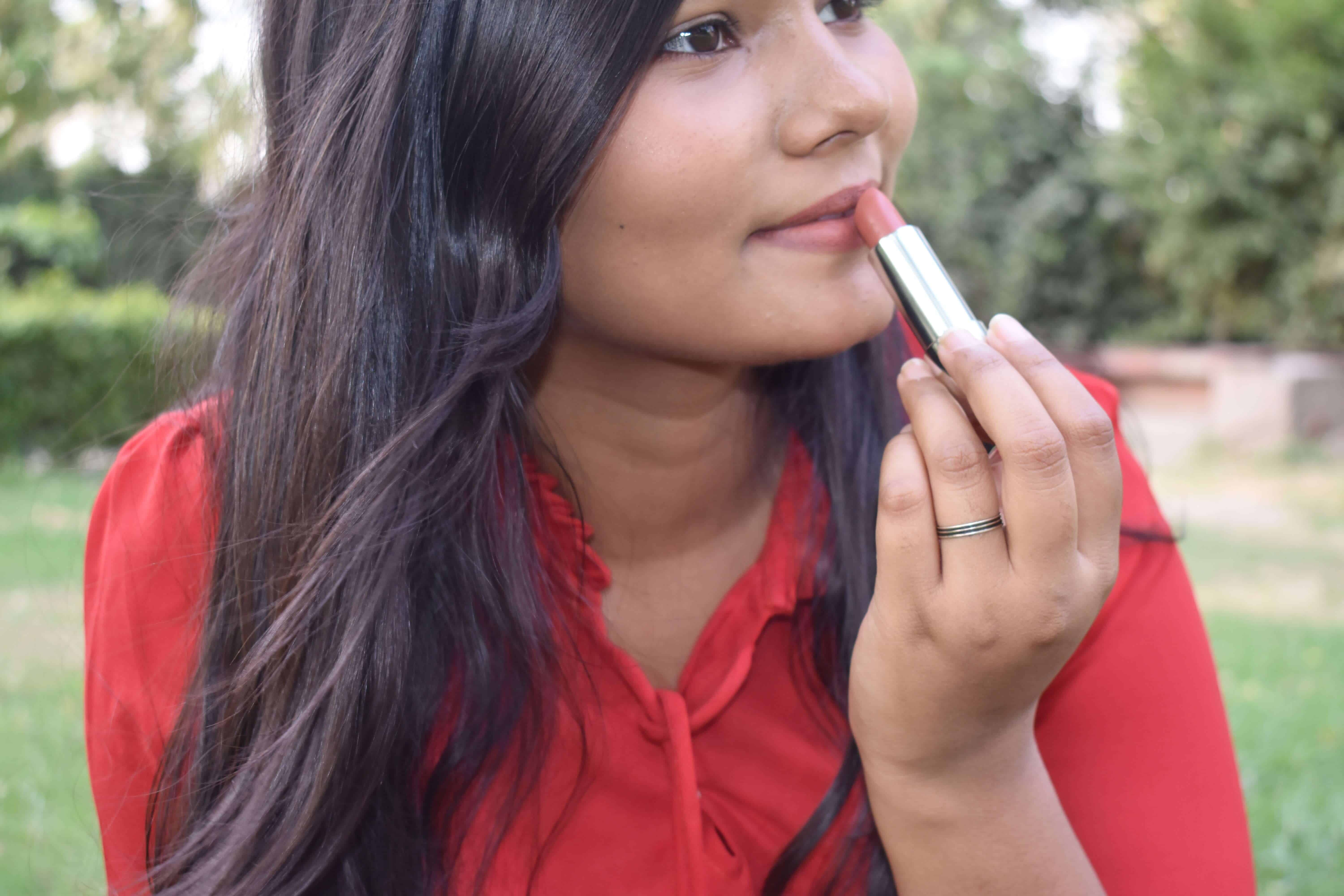 Maybelline Inti Matte Nudes Lipstick Toasted Brown Review & Swatches