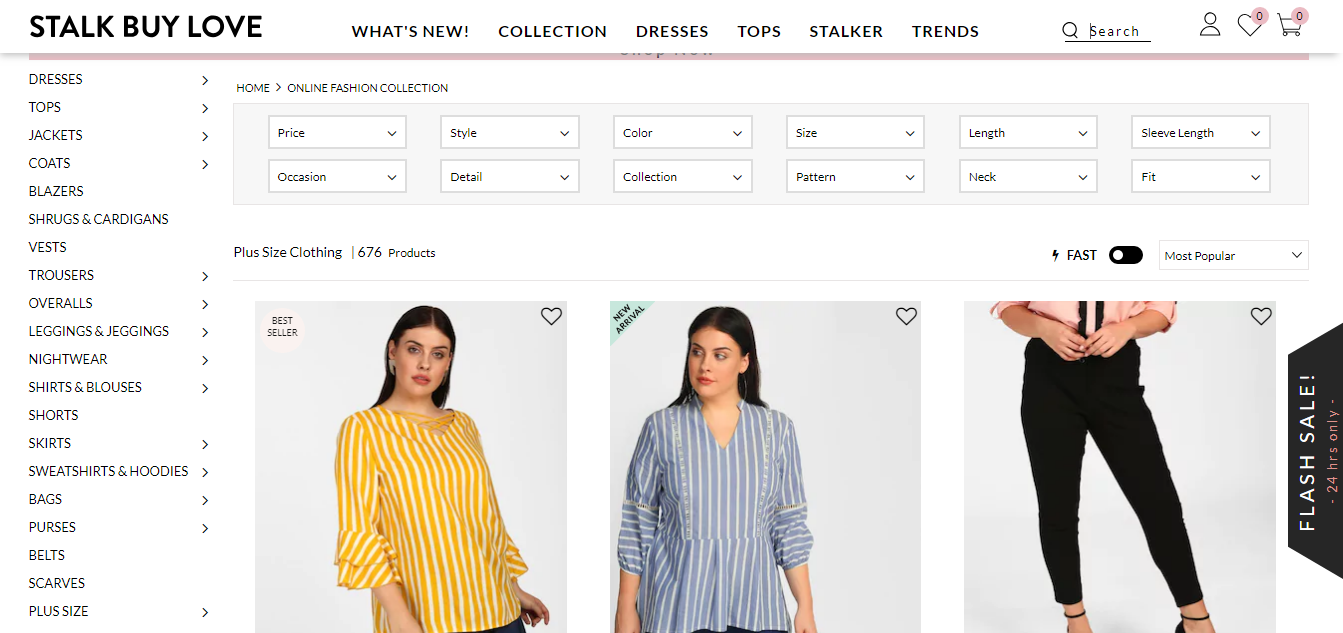 Online Stores in India for Plus Size Beauties