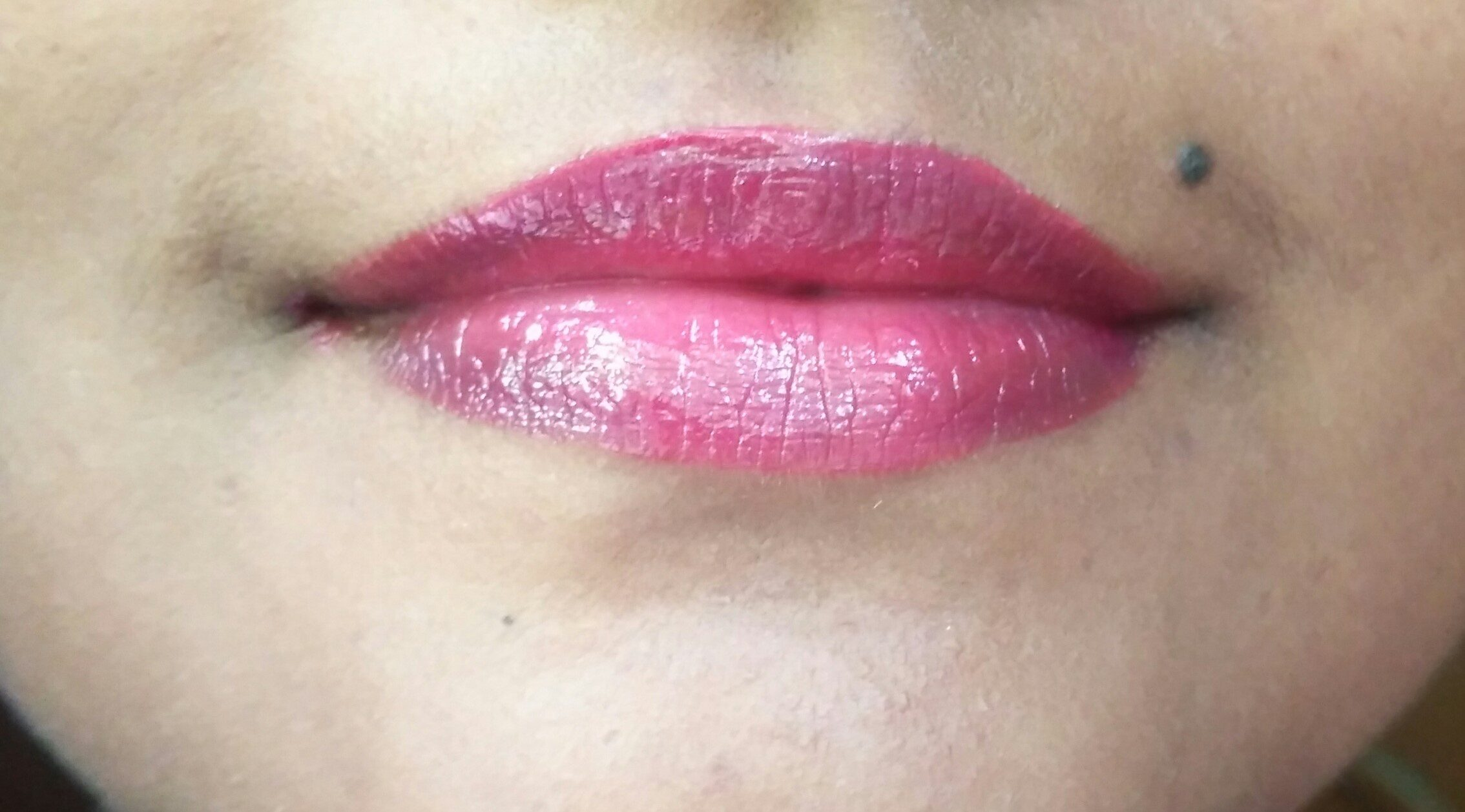 L.A. Colors Pout Super Shine Lip Gloss French Kiss Review