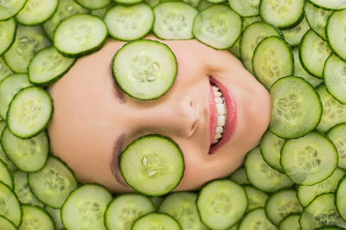 Treat Makeup Allergy with cucumber