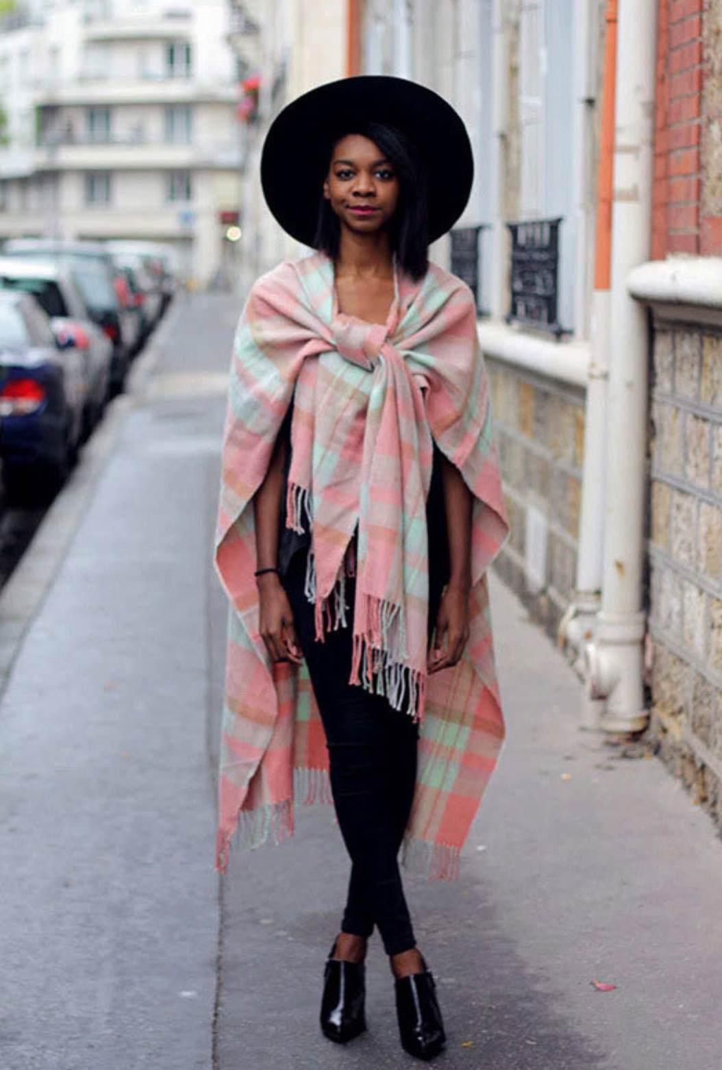 Ways To Wear a Shawl