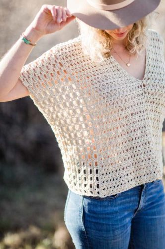 A Fashionista's Guide to Wearing Crochet Top