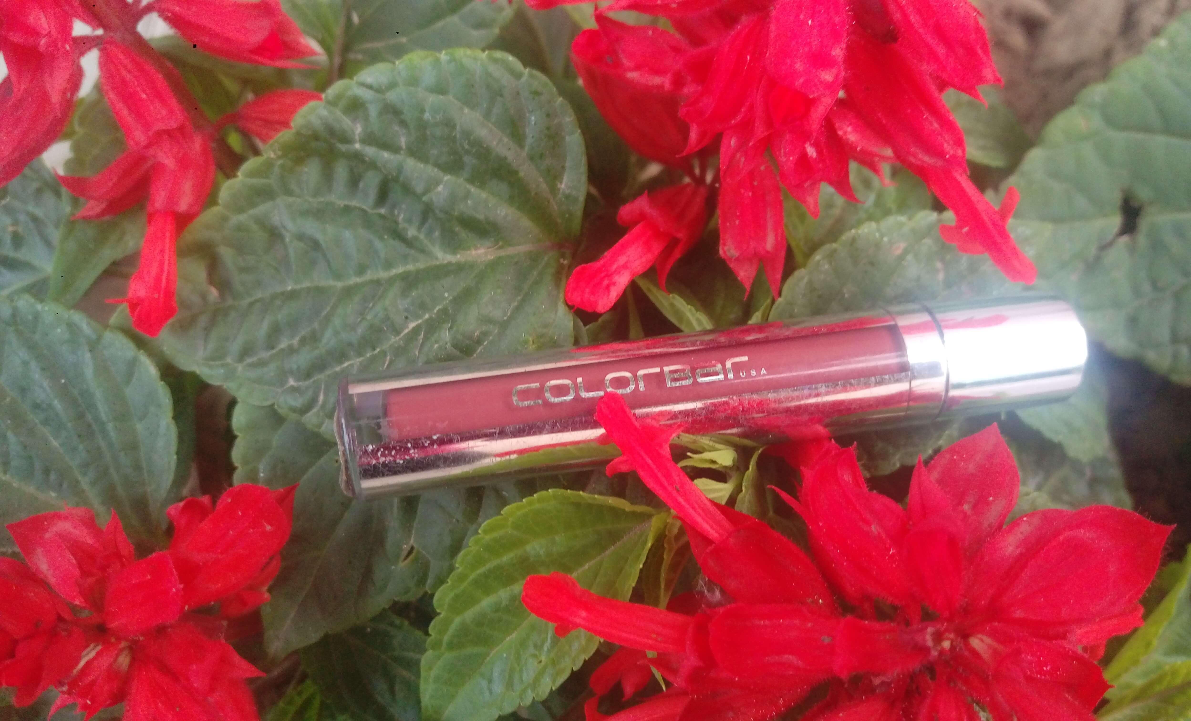 Colorbar Kiss Proof Lip Stain Review | 007 Haute Latte