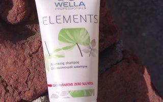 Wella Professionals Elements Renewing Shampoo Review