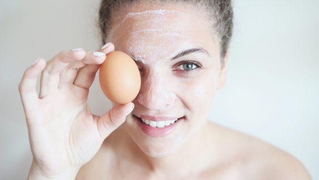 egg hair packs