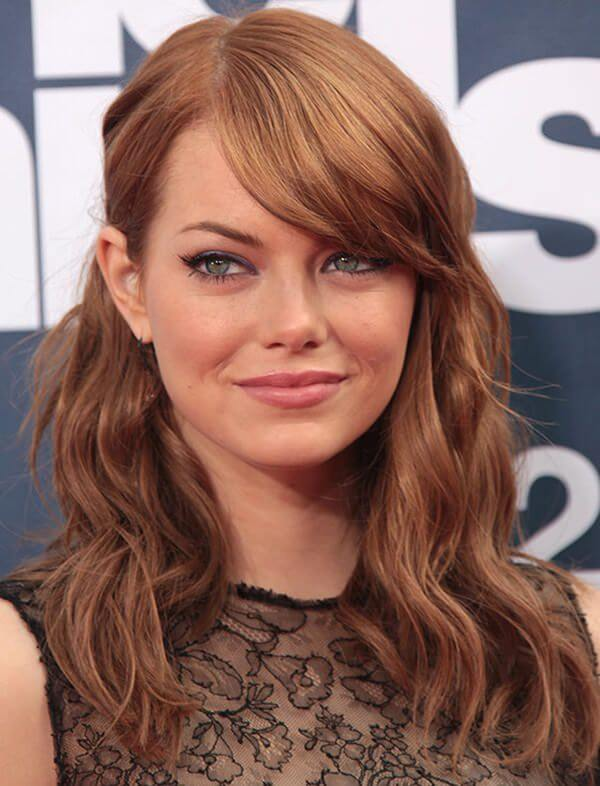 hairstyles for high forehead 2 1