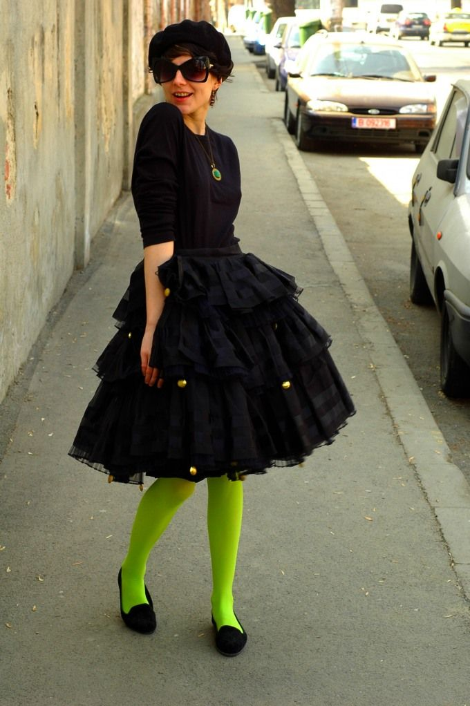 Neon Tights with lbd