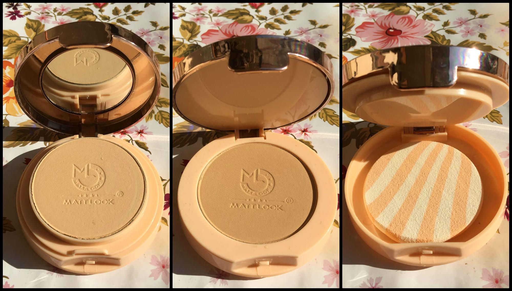 matt look compact powder review 1