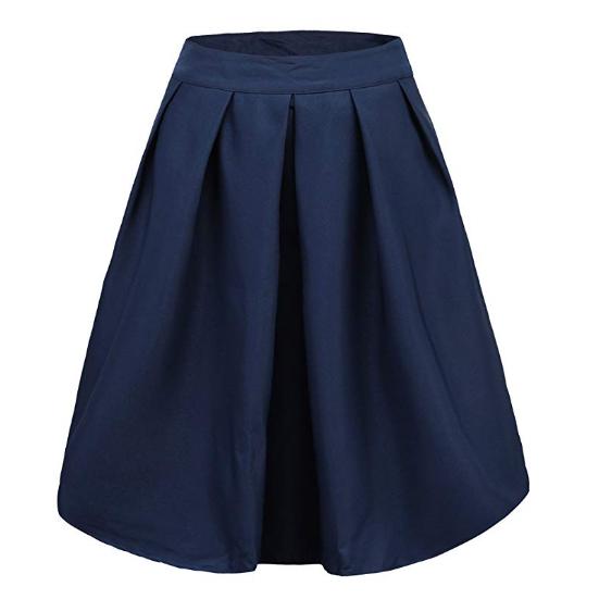 midi skirt for graduation