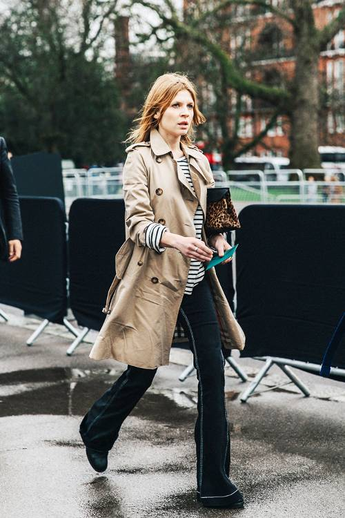 wearing trench coat guide