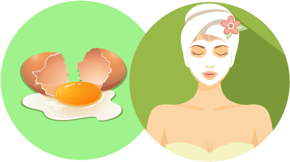 egg white for blackheads
