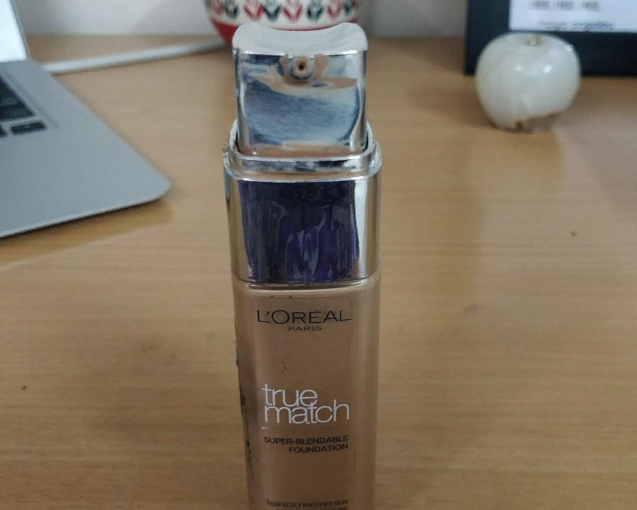 L'Oreal Paris True Match Super Blendable Foundation packaging