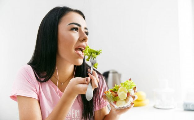 vegetarian diet for clear skin in a week