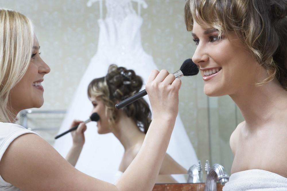 makeup mistakes wedding day
