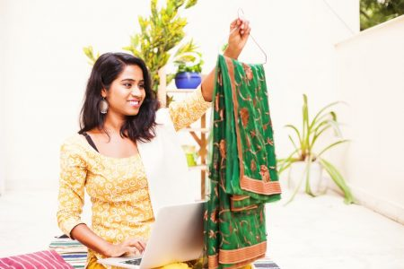 Buy Sarees Online from USA