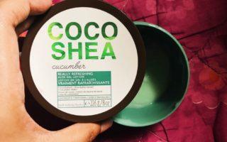 Bath and Body Works Coco Shea Cucumber Aloe Gel Lotion