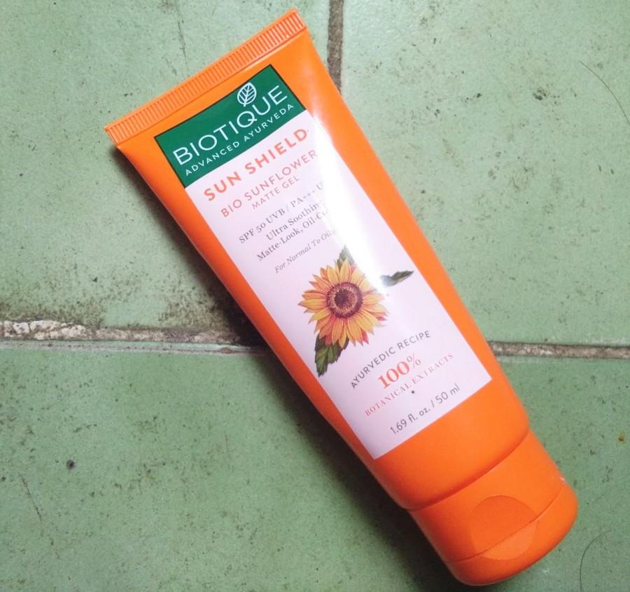 Biotique Bio Sunflower Matte Gel Sunscreen