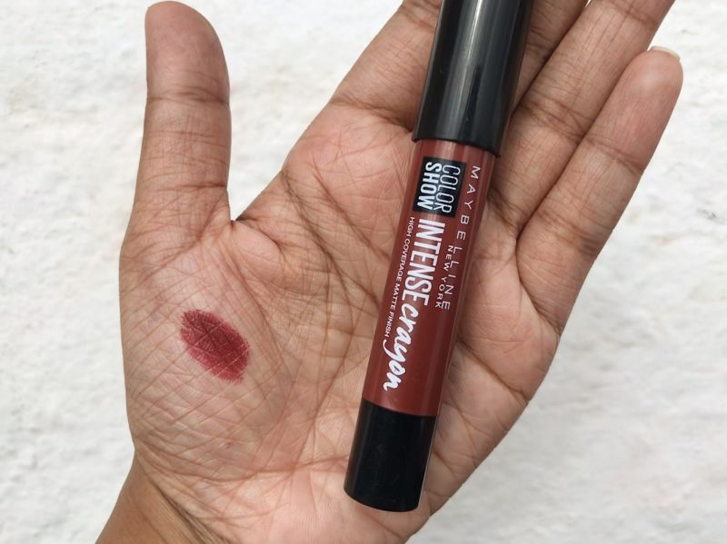Maybelline Color Show Intense Crayon Dark Chocolate Review