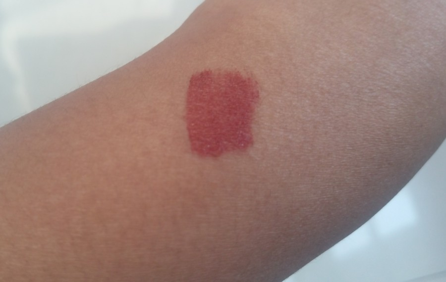 Sugar Suede Secret Matte Lip Color Taffeta Terracotta Review