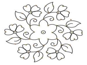 Best Rangoli Designs With Dots
