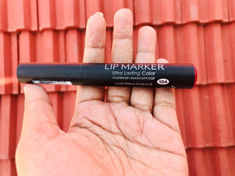 Golden Rose Lip Marker Ultra Lasting Color Review
