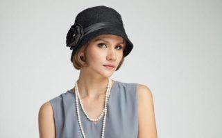 flapper hat