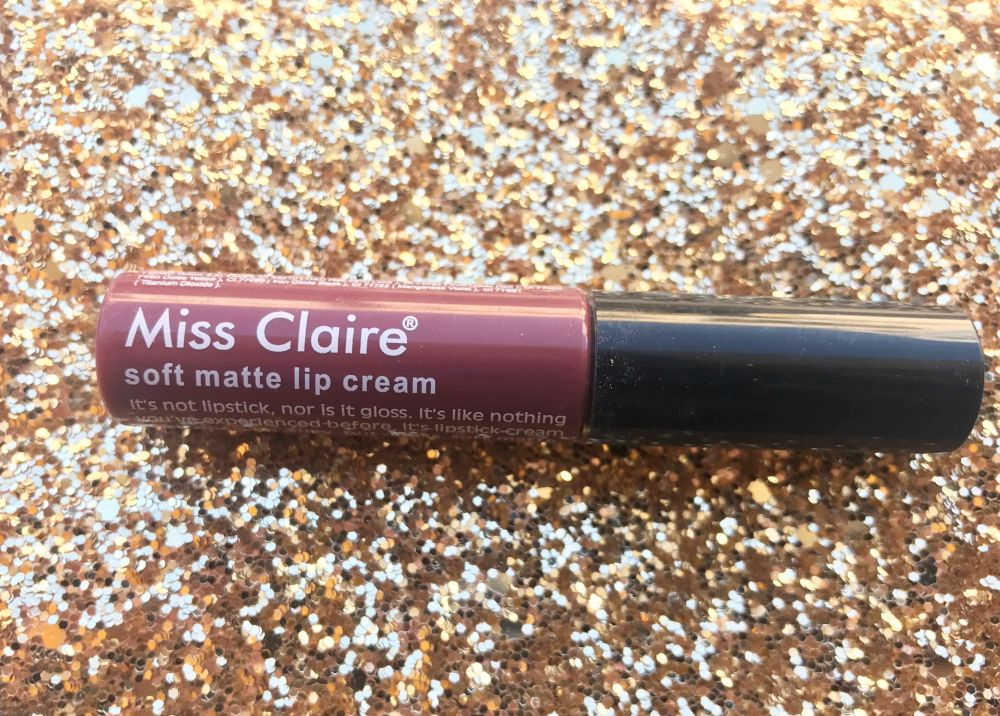 Miss Claire Soft Matte Lip Cream Shade 55 Review