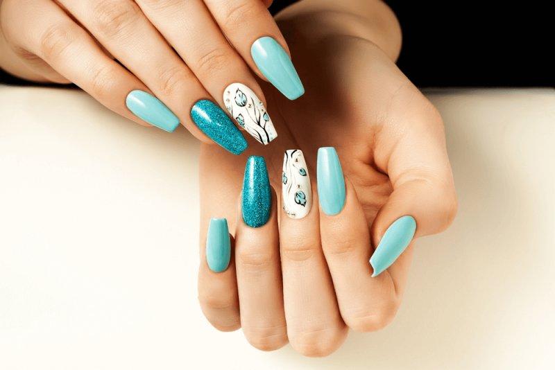 gel nails - artificial nail types