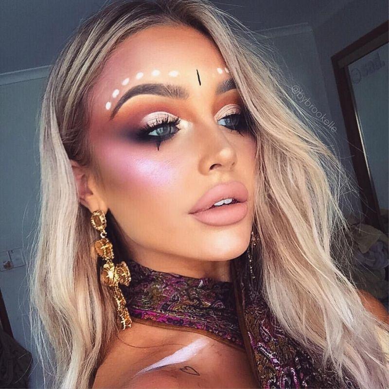 gypsy makeup look