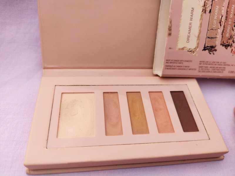 Maybelline Gigi Hadid Eye Contour Palette Review Swatches