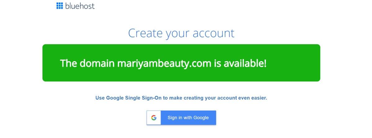 domain for beauty blog