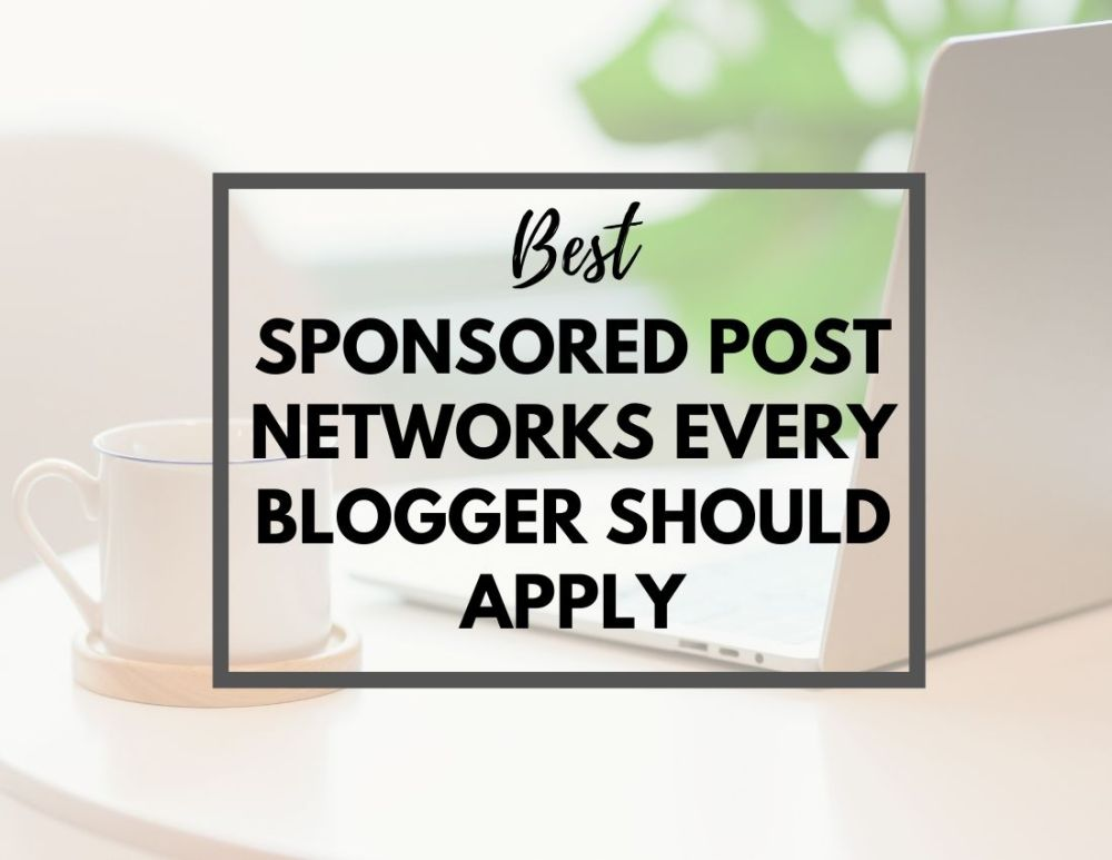 sponsored posts for bloggers