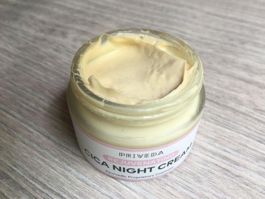 Priveda CICA Night Cream Review