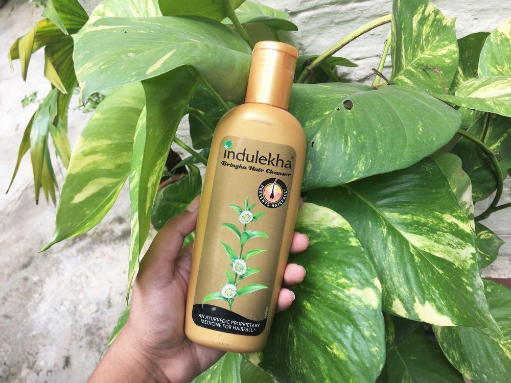 Indulekha Bringha Hair Cleanser Shampoo Review