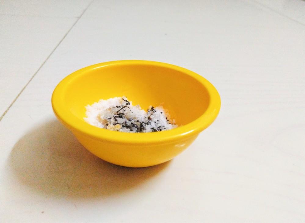 DIY Lime Green Tea Salt Face & Body Scrub