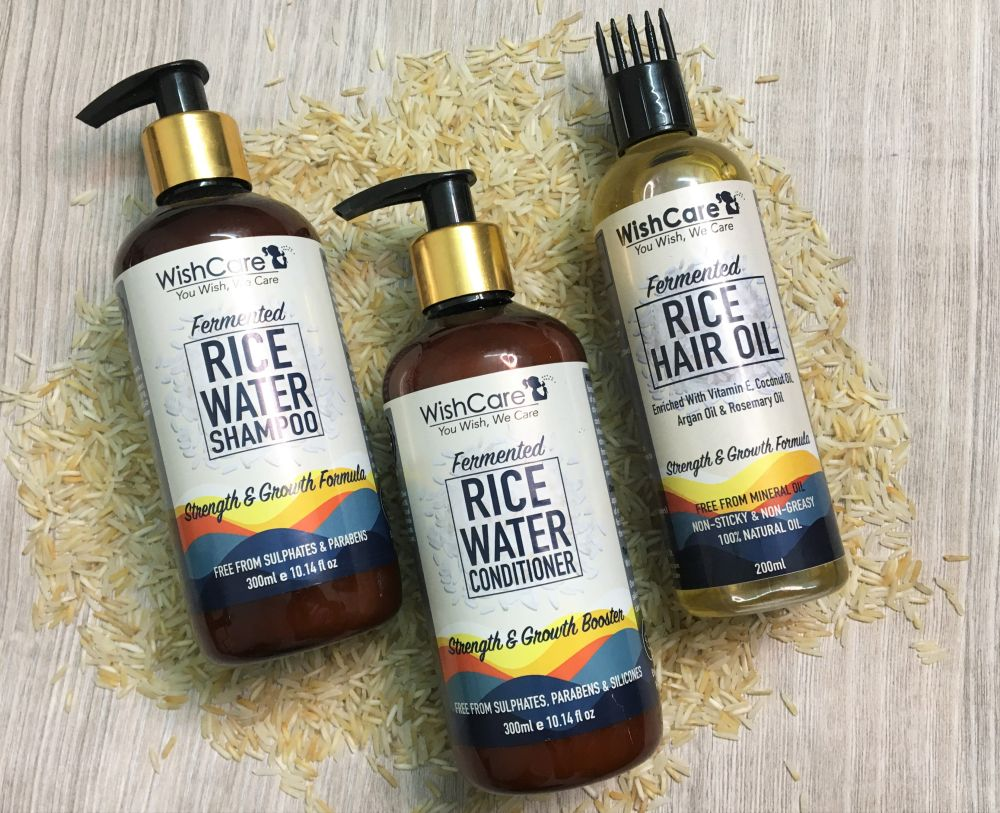 WishCare Fermented Rice Water Haircare Range Review