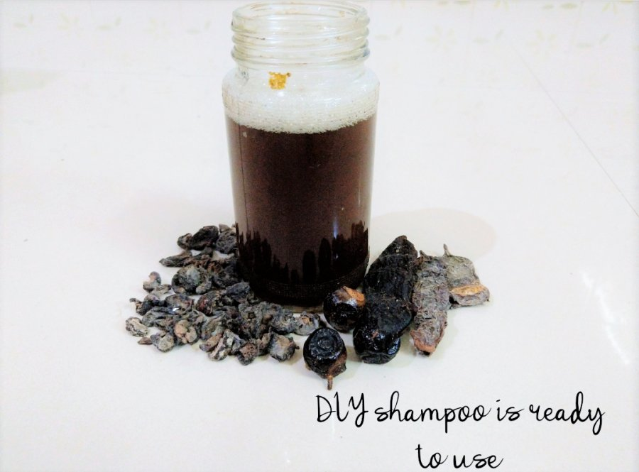 DIY Herbal Shampoo at home