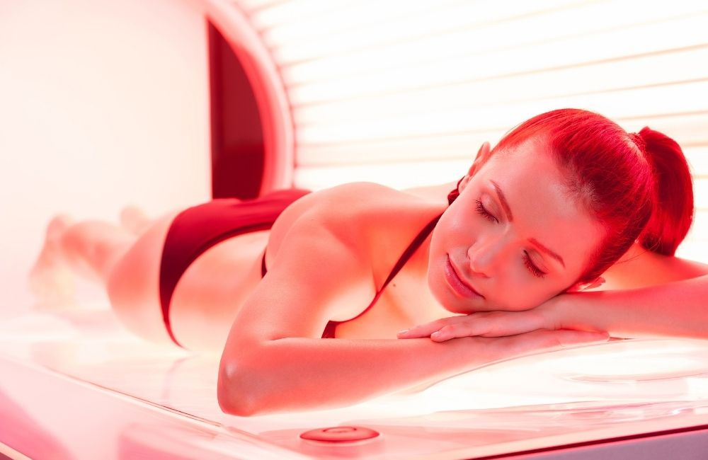 Infrared Tanning Bed
