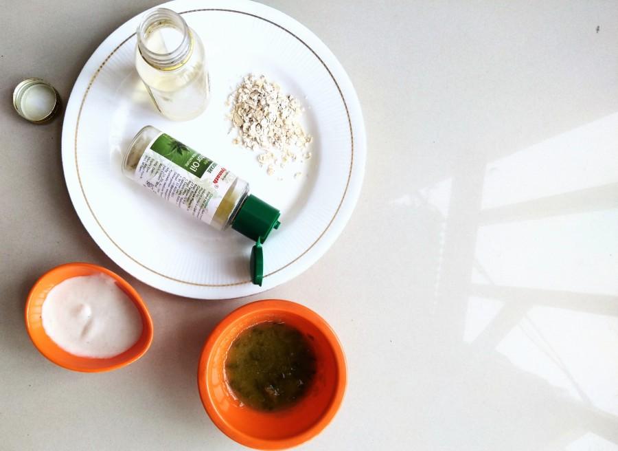 castor oil face mask recipe