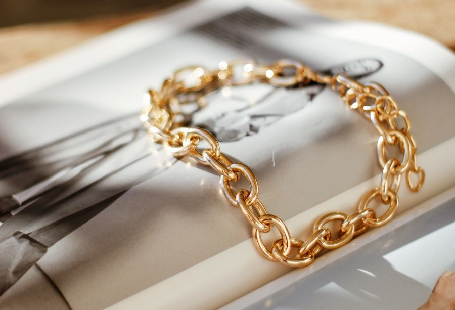 Chic chain links - wrist candy