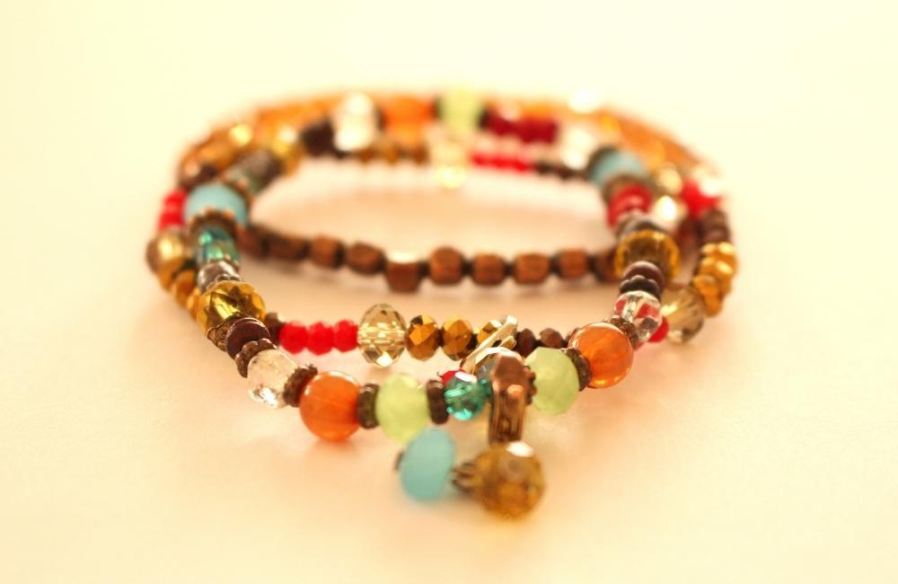 beads bracelet for summer