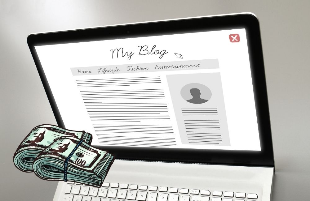 how to make money off blogging