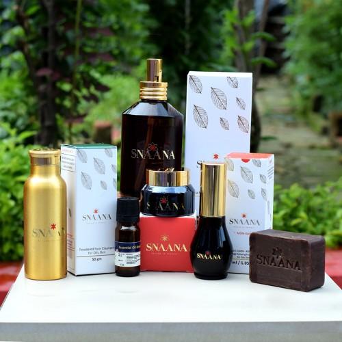 oily skin anti acne kit snaana